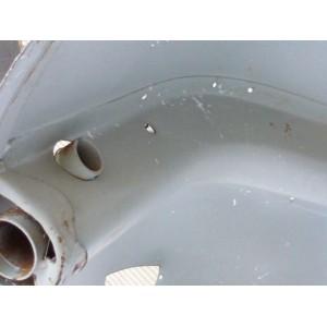 Ricambio Telaio Lamierato Completo Vespa PX 125 150 200 Con Miscelatore
