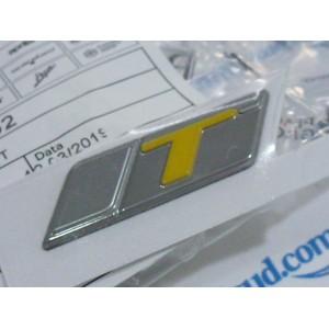 """Adesivo """"T"""" giallo PER Vespa GTS SuperTech HPE"""