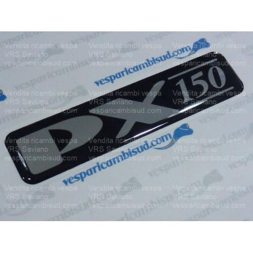 """Targhetta """"PX150""""cofano per Vespa PX150E '98/Millennium"""