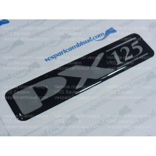 """Targhetta """"PX125"""",cofano per Vespa PX 125 E '98"""