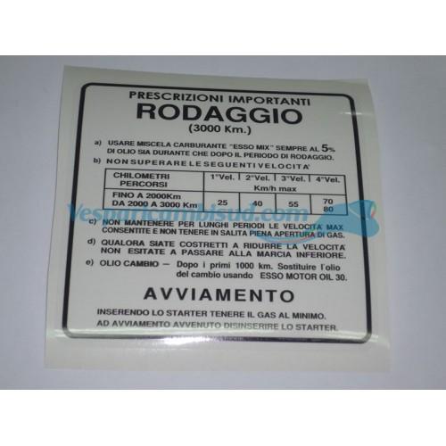 ADESIVO RODAGGIO 5% 4 MARCE