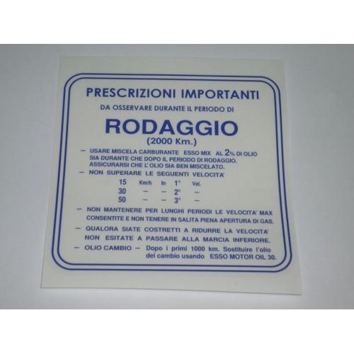 ADESIVO RODAGGIO MISCELA AL 2%