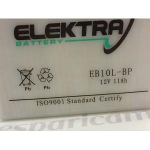 BATTERIA STANDARD 12v-11ah con acido a corredo