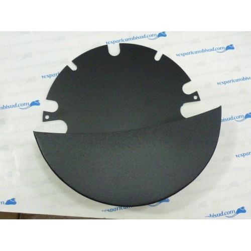 Bauletto portaoggetti sotto cofano-MRP Sparewheelbox-Vespa PX, T5 125cc-nero