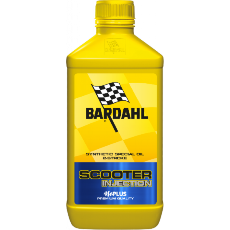 BARDAHL Olio Scooter Injection Lubrificanti 2 Tempi Alte Prestazioni Antiattrito